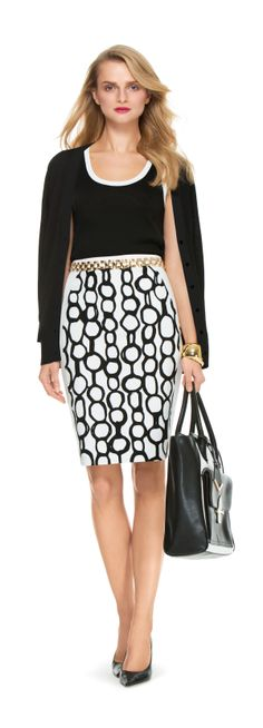 Looks To Love. #Well Suited #SemiAnnual #TheLimited #BW #W2W #PolkaDots