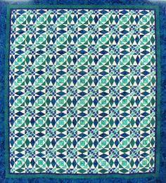 Storm at Sea quilt by Sylvia Currie | Quilts Kingston 2012