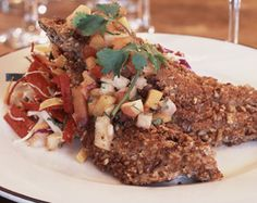 Firebirds Pecan Crusted Trout