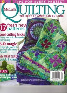 McCall's Quilting Magazine (Color tips for every « Library User Group--is this a buggy barn pattern?