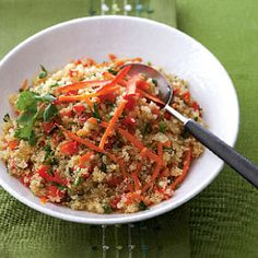 Quinoa-Veggie Pilaf