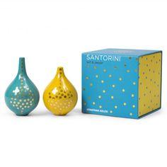 Santorini Salt & Pepper Shakers