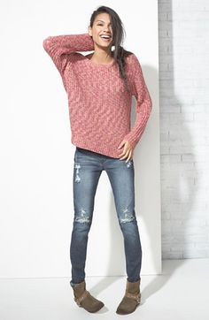 fashion shoe, nordstrom, style, cloth, knit sweaters, sweater weather, outfit, relax sweater, sweaters and jeans
