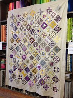 Farmer's Wife Quilt top finished