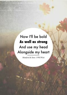 by Mumford and Sons.