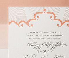 analina wedding invitation by hello tenfold for bella figura