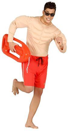 Disfraz de Vigilante de la Playa #disfraces #Playa