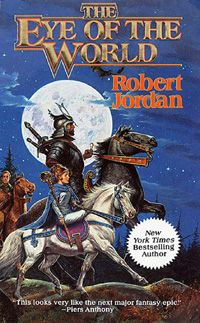 The Wheel of Time Series.. I'm currently up to book 8. Good stuff so far :)
