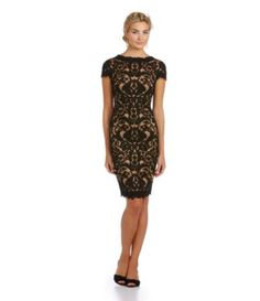 Shop for Tadashi Shoji Illusion Lace Dress at Dillards.com. Visit Dillards.com to find clothing, accessories, shoes, cosmetics & more. The Style of Your Life.