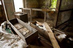 A women's asylum rots on an abandoned New York island