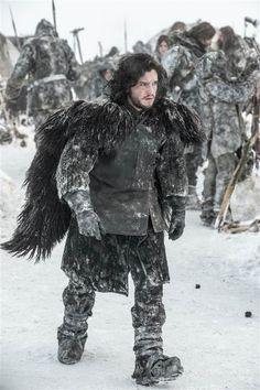 Actor Kit Harington as Jon Snow.