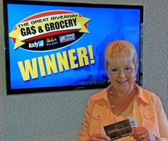 Cindy Deffe just won $100 in The Great Gas & Grocery Giveaway from KXLY4, Divine's & Yokes! Just watch KXLY4 News for your chance to win.