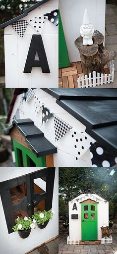 This is my favorite DIY playhouse by far.
