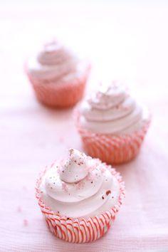 Raspberry Cupcakes with vanilla buttercream