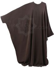 Everyday Abaya from Sunnah Style... Love how roomy and comfortable this looks, the drape is amazing! Could pair this with any style hijab for dressing up or everyday wear.