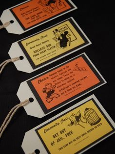 Monopoly Favor Tags