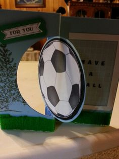 Soccer Flip-its card