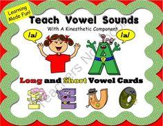 Vowel, Vowels , Short Vowels, Long Vowels, Super Vowels sounds long and short from theteachinggal on TeachersNotebook.com -  (9 pages)  - Vowel, Vowels , Short Vowels, Long Vowels, Super Vowels sounds long and short.