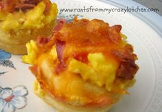 Bacon Egg and Cheese Corn Muffins