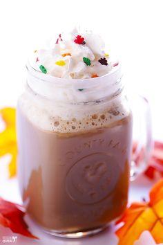 Fall recipe: Maple Latte #recipe #coffee