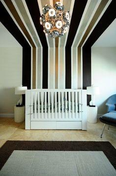 stripes in any preferred color make a nursery EXTRAordinary