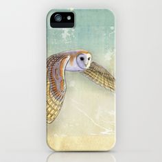 Barn Owl Labyrinth iPhone & iPod Case by Vin Zzep - $35.00