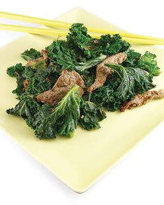 Ginger Beef and Kale - Martha Stewart Recipes