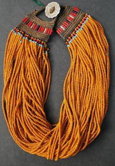Naga Jewellery - Konyak Tribe. Origin Nagaland - New Delhi,,India
