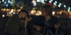 "An anthropologist (Anne Hathaway, left) and a musician (Johnny Flynn) strike up a tentative romance in the drama ""Song One."" Courtesy Sundance Institute"