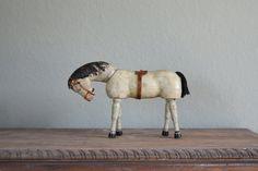 chevaux, art, antiqu white, white hors, antiqu wooden, wooden white, antiques, wooden hors, vintag hors