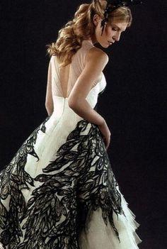 Fleur Delacour's wedding dress.