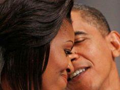 1st Lady Michelle Obama & President Barack Obama... LOVE....