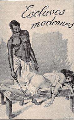 Georges Topfer: ilustración del libro Esclaves modernes de Jean de Virgans (París, 1910)