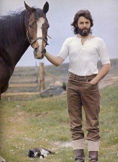 Horse, Cat.....and Paul