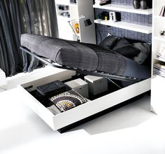 Hydraulic Storage Bed by BoConcept