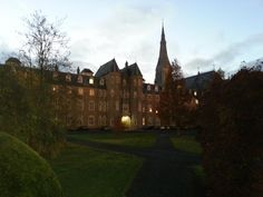 The South Campus of the National University of Ireland Maynooth resembles Hogwarts in the twilight - beautiful!  Visit http://international.nuim.ie to explore the NUIM campus and student experience.