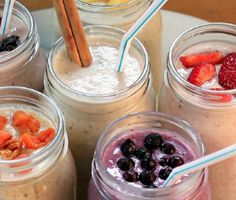 Easy protein shake recipes...these look amazingly easy :)