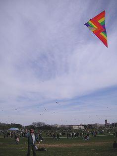Rainbow kite
