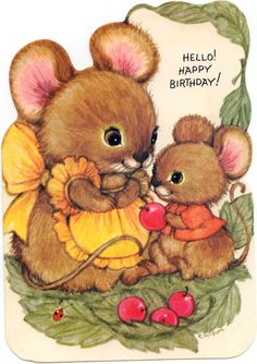 Happy Birthday Greeting Cards | HELLO! HAPPY BIRTHDAY GREETING CARD | Marges8's Blog