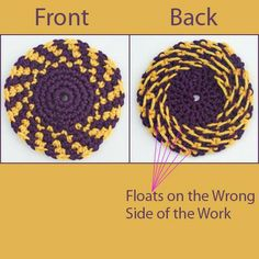 """""""Floats"""" is a term used in colorwork."""