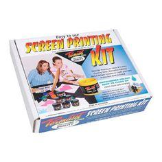 Permaset Aqua Screen Printing Kit $149.95