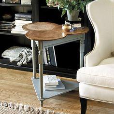 Charlotte Side Table by Ballard Designs  I  ballarddesigns.com