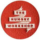 the hungry workshop letterpress logo