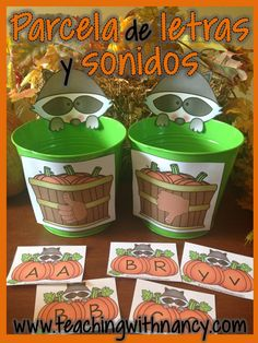 This is perfect for PreK or Kindergartners to learn their letters.  Would made a good Daily 5 station.  Includes 7 stations all in Spanish.