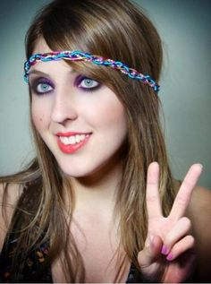 Headband Hippie colors - R$19.90