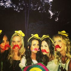 Fiesta Stache bash. Hubby's 30th birthday party