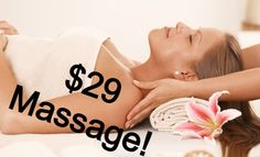 $29 #Massage anyone?