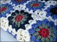 Hey, I found this really awesome Etsy listing at https://www.etsy.com/listing/182184001/handmade-wool-granny-square-baby-blanket
