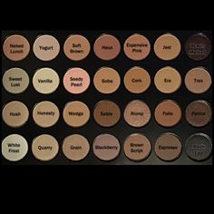 MAC Dupes on the Coastal Scents and BH Cosmetics Neutral Palette