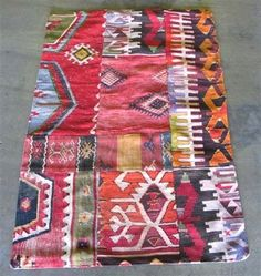 Rugs From Around The World by Jeanine Hays. Eclectic rugs by The Loaded Trunk